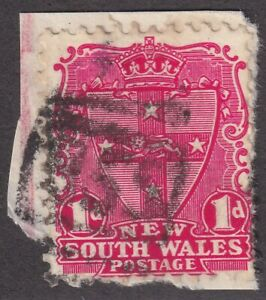 NSW numeral postmark 855(1) of ILUKA [rated 3R] Type 4B