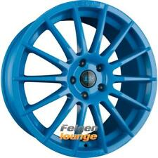 4x TEC SPEEDWHEELS AS2 Smurf Light Blue (SB) 8x18 ET38 4x100 ML64.0