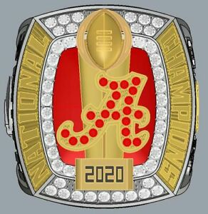 HOT 2020 Alabama Crimson Tide Football National Championship Ring Holiday Gift