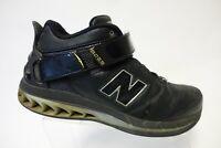 NEW BALANCE 8025 Black Sz 12 D Men Leather Basketball Shoes