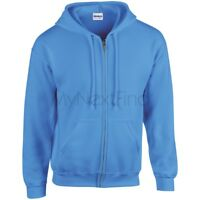 Gildan Heavy Blend Full Zip Hoodie Hooded Sweatshirt