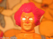Thundercats loose 100% comp lion-o LJN toy 80 retro fig working yeux Liono omens