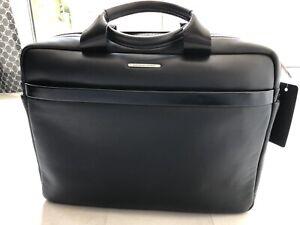NEU Porsche Design Herren Akten Tasche Leder Schwarz Bag CL2 2.0 NP. 539,90€