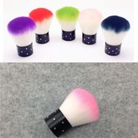 Soft Nail Brush Dust Remover Powder Cleaning Manicure Nail Art Tools Acrylic