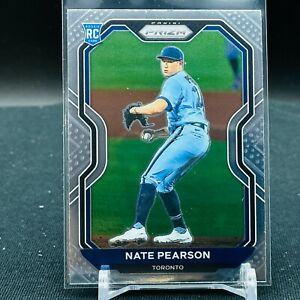 2021 Prizm Baseball Nate Pearson RC BASE Toronto Blue Jays