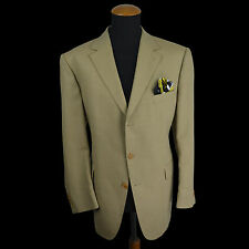 Recent Burberry London Sakko gr 28 SLIM Beige Wolle size 46S Blazer Textured