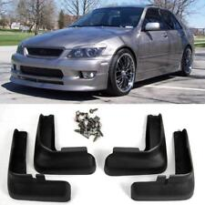 Front Rear 4PCS Fender Splash Mud Guards Flaps Body Kits For 01-05 Lexus IS300