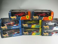 Hot Wheels Course 1/43 Echelle F1 Voiture Williams Ferrari Jordan Stewart Choix