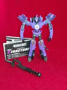 Transformers RID Adventure TAV 36 FRACTURE warrior/deluxe figure - Complete