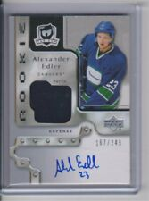 2006-07 The Cup Rookie Alexander Edler auto patch 167/249