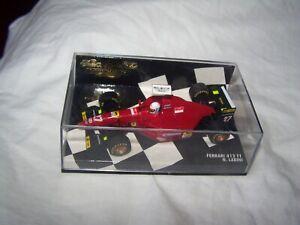 Minichamps F1 Ferrari 412 T1 N. Larini 1:43 model Racing car in case