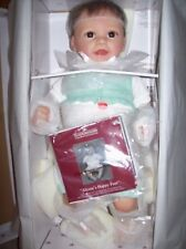 "ASHTON DRAKE/ LINDA MURRAY 21"" VINYL INTERACTIVE DOLL ""ALYSSA'S HAPPY FEET"" NIB"