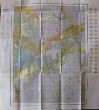 Folded Color Soil Survey Map Stanton County Nebraska Pilger Elkhorn River 1929