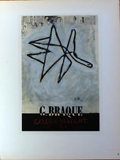 Georges Braque Lithograph Estampes Livres Maeght First Edition 1959