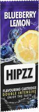 HIPZZ Aromakarte Blueberry Lemon - zum aromatisieren von Tabak ect., 5 St.