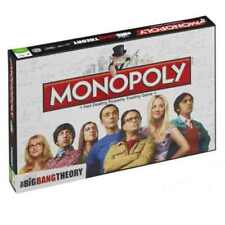 Glass Monopoly Board & Traditional Games