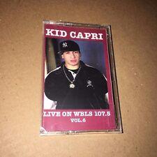 DJ Kid Capri Live on WBLS 107.5 FM Tape #6 NYC CASSETTE NYC MIXTAPE Rare Mix!