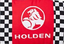 LARGE HOLDEN SUPPORTERS CHECKERED FLAG 150x90cm 3X5ft NEW BATHURST