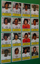 AGEDUCATIFS PANINI FOOTBALL 1975-76 OLYMPIQUE MARSEILLE COMPLET OM 75-1976