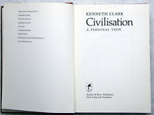 Kenneth Clark. CIVILISATION. A Personal View.