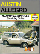 Austin Allegro Owners Handbook & Servicing Guide all models from 1973 Mark 1 & 2