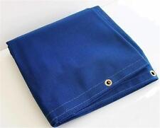 "10' x 10' BLUE MESH SCREEN SHADE TARP (APPROX. FINISHED SIZE 9'6"" X 9'6"")"