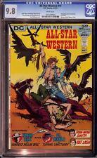 All Star Western #11 CGC 9.8 DC 1972 2nd Jonah Hex! NM/Mint Key Book! cm