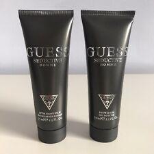 GUESS Seductive Homme Shower Gel for Men Lot of 2 x 2.5 fl oz