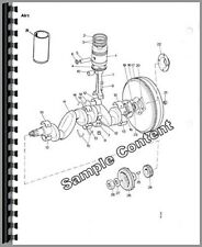 Parts Manual John Deere 207 Rotary Cutter Pc555