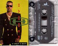 MC Hammer 2 Legit 2 Quit 1991 Cassette Tape Single Rap Hiphop R&B