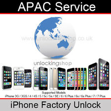 APAC Service iPhone Factory Unlocking Service (For all models up to iPhone 7)
