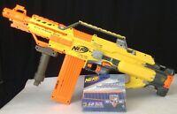 Nerf Gun N-Strike Stampede-ECS Fully-Automatic18-Dart Clip Bipod w/ Darts LOT
