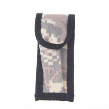 1X mini small camouflage nylon sheath for folding pocket knife pouch case XC