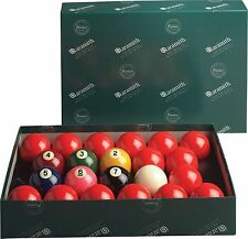 """Aramith Premier 2-1/4 inch Numbered Snooker Ball Set 2.25"""" w/ FREE Shipping"""