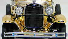 Antique Vintage Classic 1930 Ford Car Exotic Art Swarovski 24K Gold A Rare Model