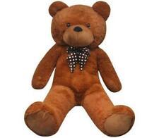 vidaXL Soft Plush Teddy Bear Toy Brown 175cm XXL Kids Stuffed Fluffy Animal