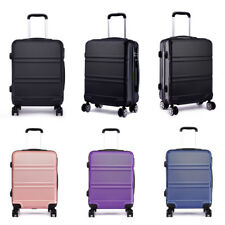Miss Lulu 20 inch Hard Shell Cabin  Suitcase Luggage Spinner Lightweight Travel