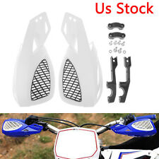"Pair 7/8"" Motorcycle Brush Bar Hand Guard for Yamaha Kawasaki Suzuki Universal"