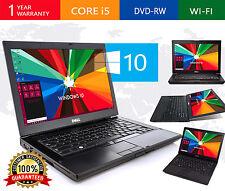 """Dell  Latitude E6410 Intel Core i7 4GB RAM 1TB HD DVDRW 14"""" Windows 10 Laptop"""