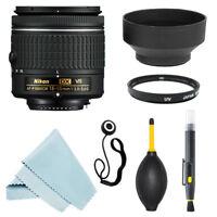 Nikon 18-55mm f/3.5-5.6G VR Lens + Accessories for D3400 D5500 D5600 D7200 D500