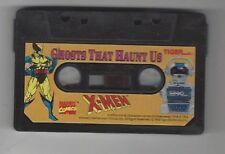 Tiger Electronics 2-Xl Talking Robot Cassette Tape X-Men Ghosts That Haunt Us