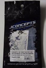 JConcepts 2169 B4.1 Front Axle for 12mm Hex Conversion W Shims & Hardware