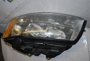 Driver Left Headlight Xenon HID Fits 00-01 AUDI A6 122635