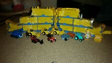 Bob The Builder Large Lot Die Cast Vehicles and Carrying Case