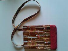 Cigar Shoulder Bag Small 100% Cotton Fabric
