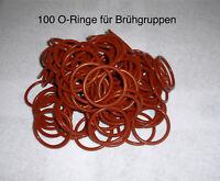 100 Stück O-Ringe für Jura, Krups, AEG Brüheinheit Brühgruppe in Premiumqualität