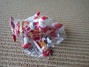 Danbury Mint USC Trojans Christmas Ornament - 2007 - Santa in Airplane