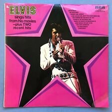 Elvis Presley Sings Hits From His Movies plus Two Recent Hits - RCA CDS-1110 Ex