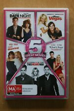 Date Night / What Happens In Vegas / What's your Number? 5disc   Preowned (D209)
