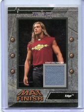 2003 FLEER WWE WRESTLEMANIA XIX MAT FINISH EDGE EVENT USED RING MAT